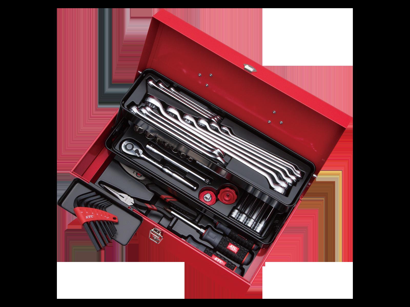工具セット(片開きケースタイプ) | KTCツールオフィシャルサイト