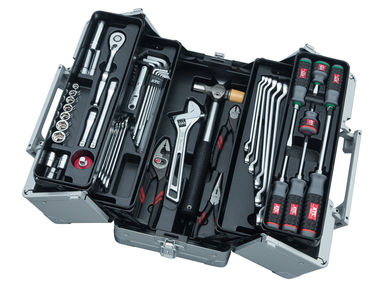 工具セット(両開きメタルケースタイプ) | KTCツール ...