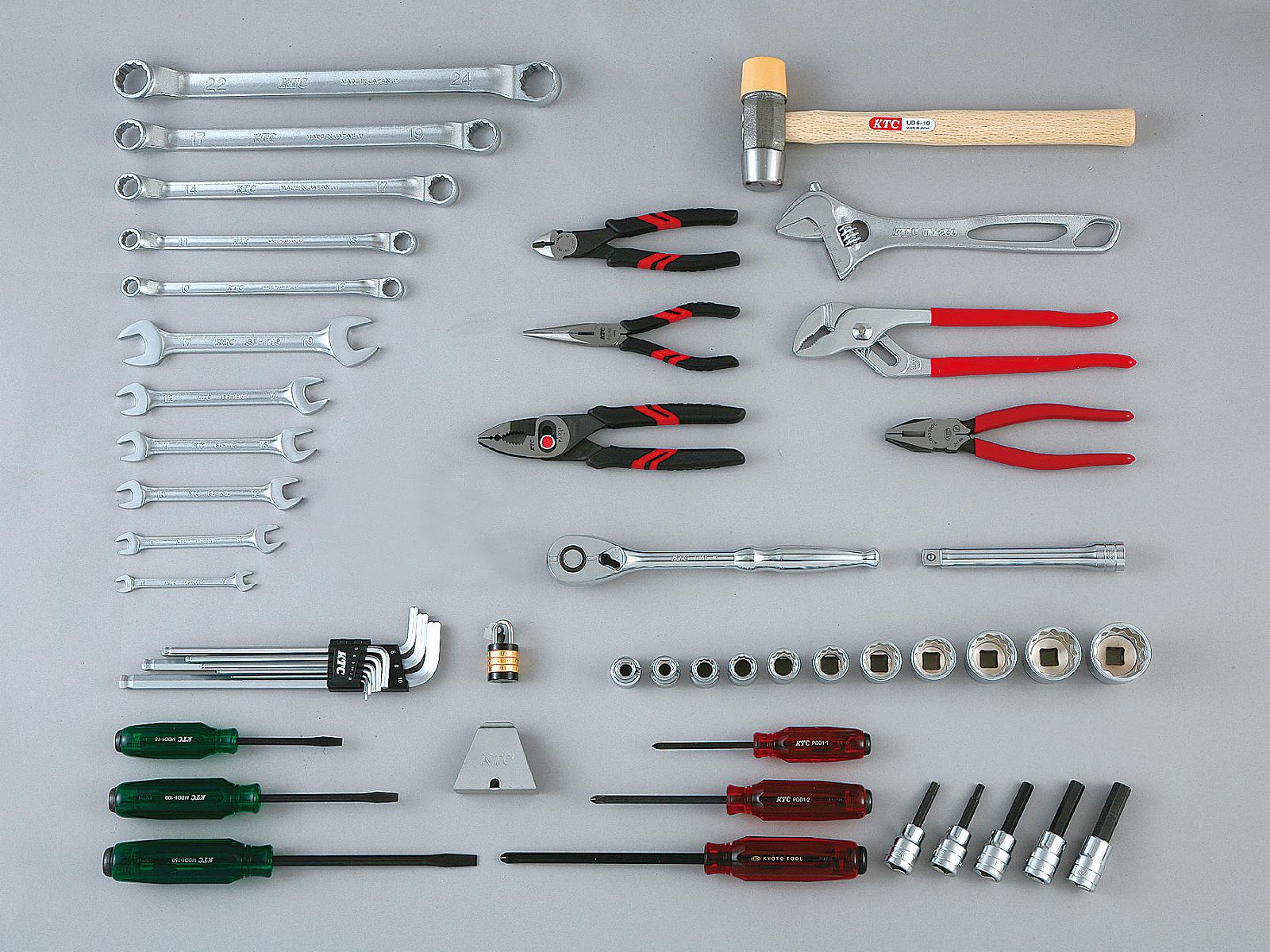 工具セット(インダストリアルモデル) | KTCツール ...