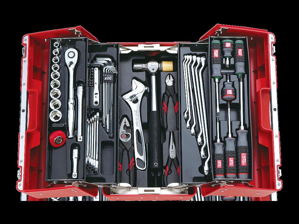 工具セット(両開きプラハードケースタイプ) | KTCツール ...
