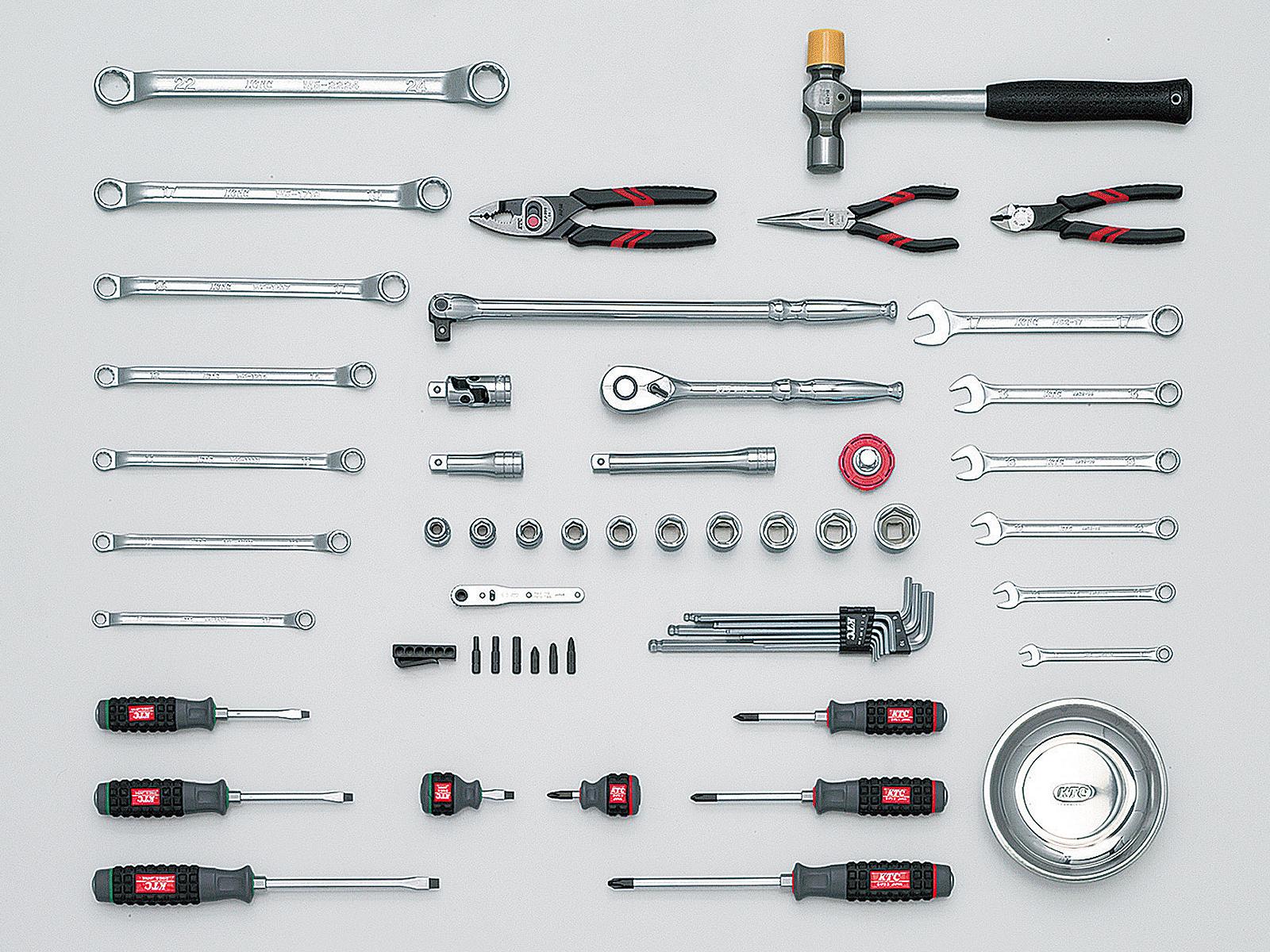 KTC 工具セット(チェストタイプ) 3737977 京都機械工具 最安値: 立春