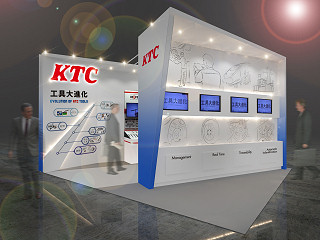 KTCブースデザイン(イメージ図)