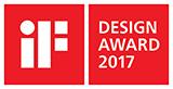 「iFデザインアワード2017」受賞