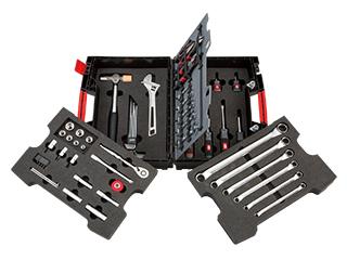 アクティブバディ 軽量樹脂ケース工具セット