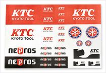 KTCロゴステッカーアソート