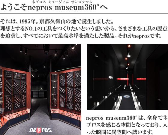 ようこそnepros museum360°へ