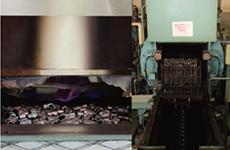 工具に最適な性質を与える連続焼き入れ・焼き戻しライン