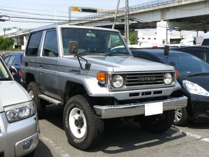 【KTC社員の愛車紹介 その5】トヨタ・ランドクルーザー(70系)