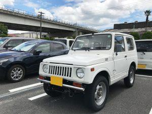 【KTC社員の愛車紹介 その32】スズキ・ジムニー(JA71-1型)