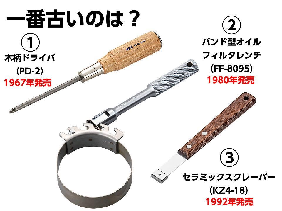 【KTCトリビアクイズ その26 一番古い工具は? 解答編】