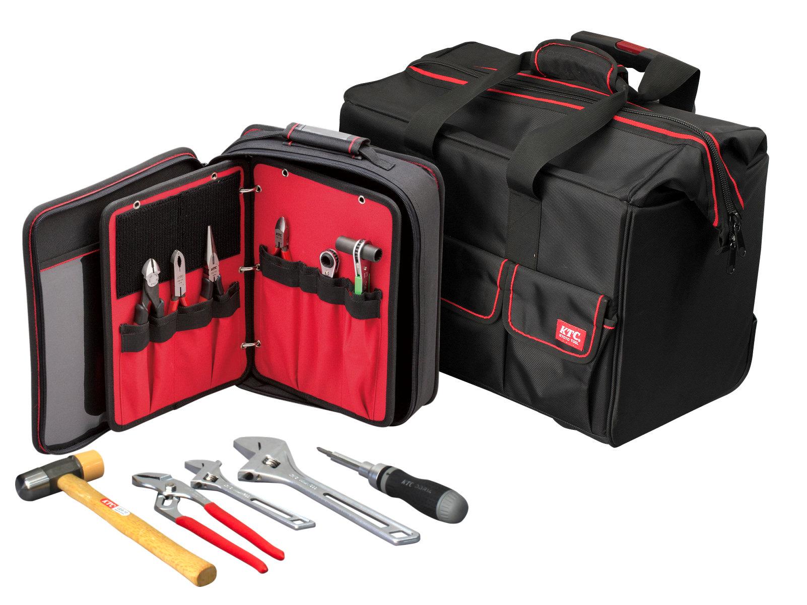 機動力、収納力、使いやすさ。三拍子そろった工具バッグ