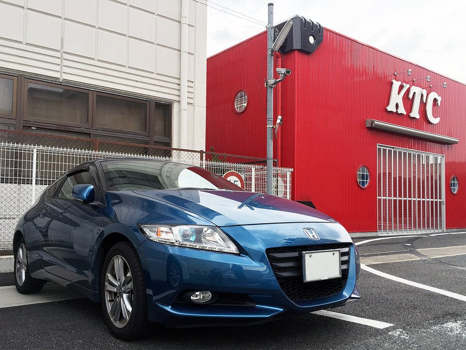 【KTC社員の愛車紹介 その33】ホンダ・CR-Z