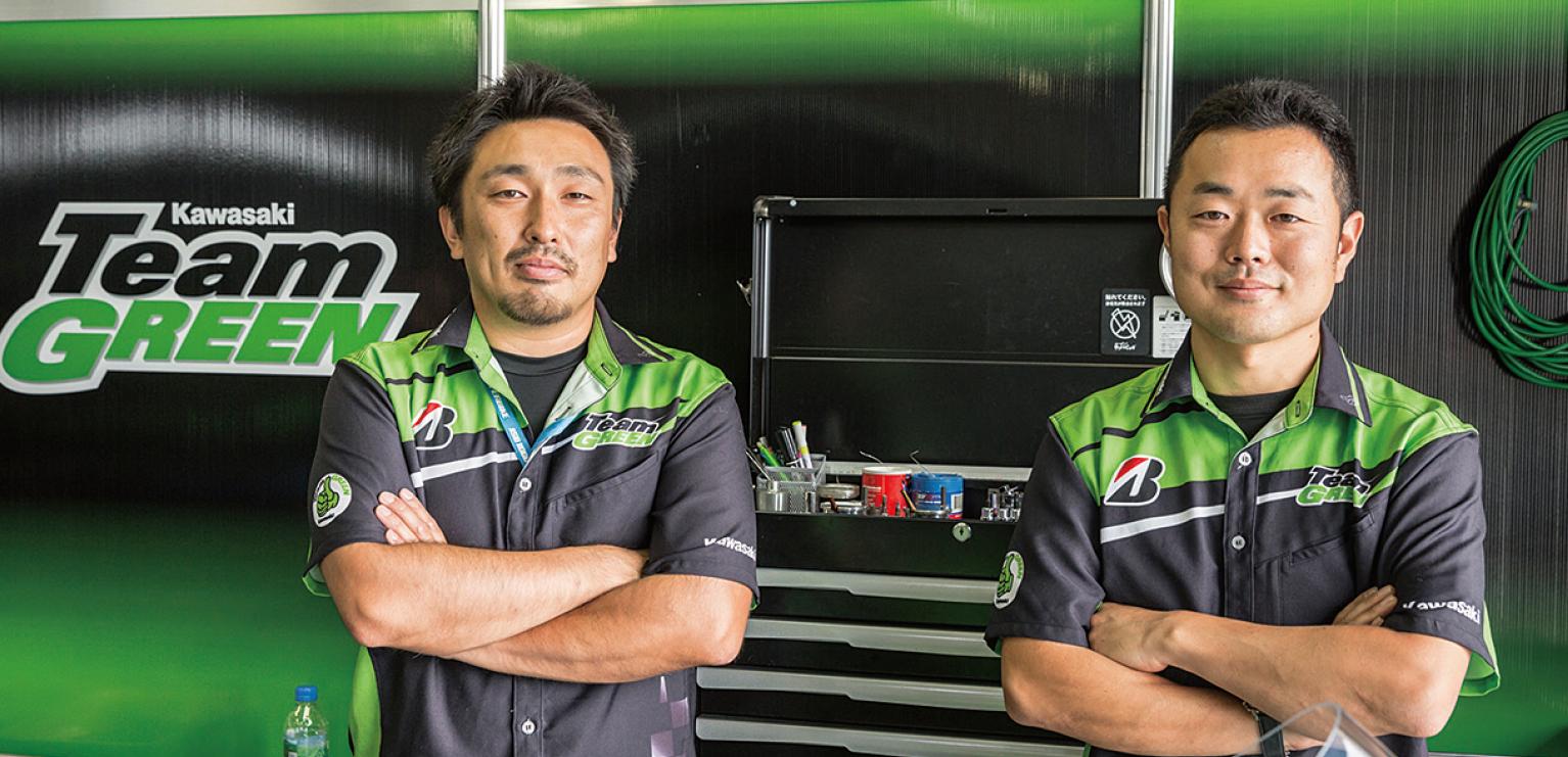 KAWASAKI TeamGREENメカニックに聞く、プロの目線から見たKTCの工具とは?