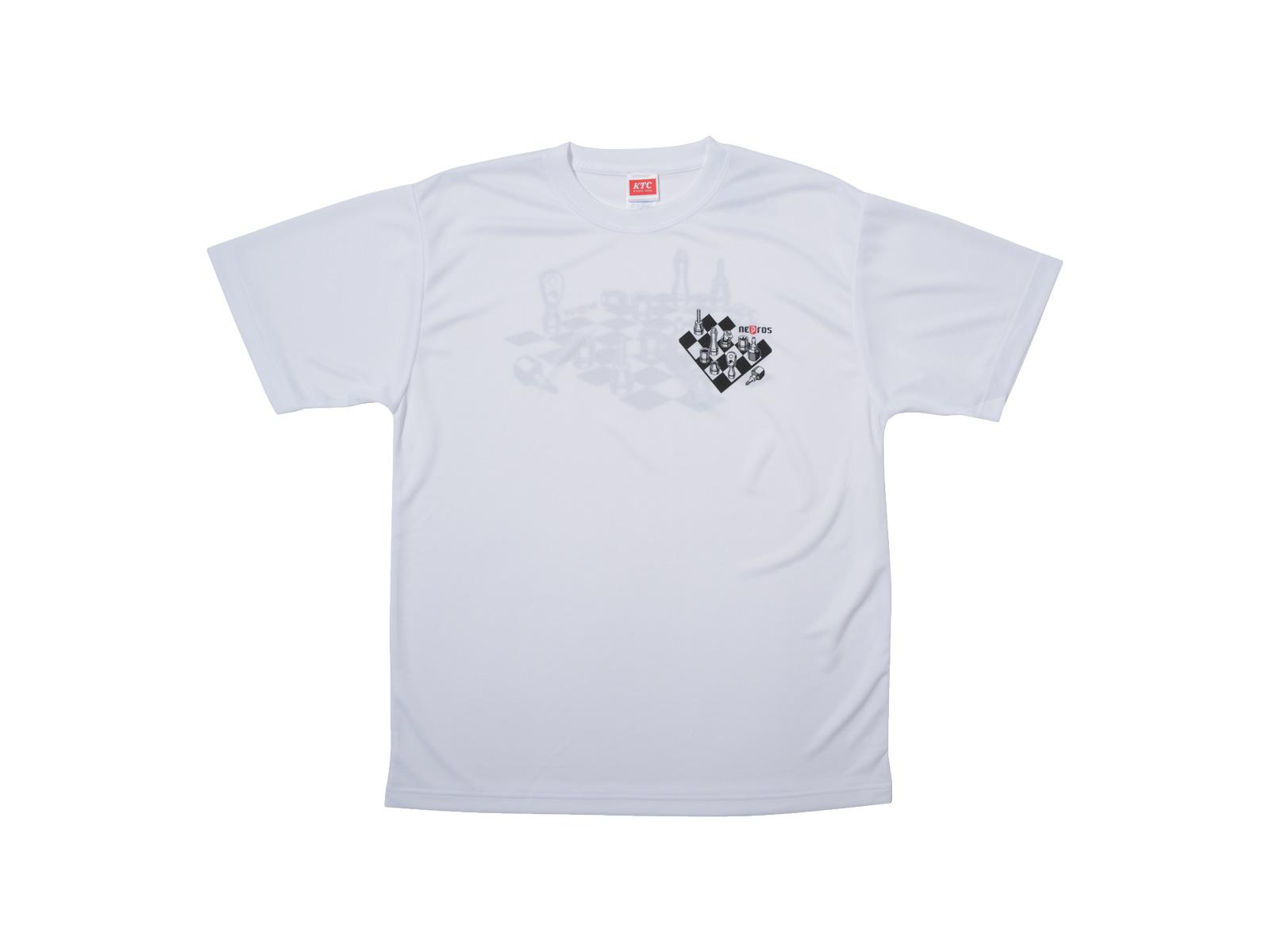 nepros工具チェスドライTシャツ 表