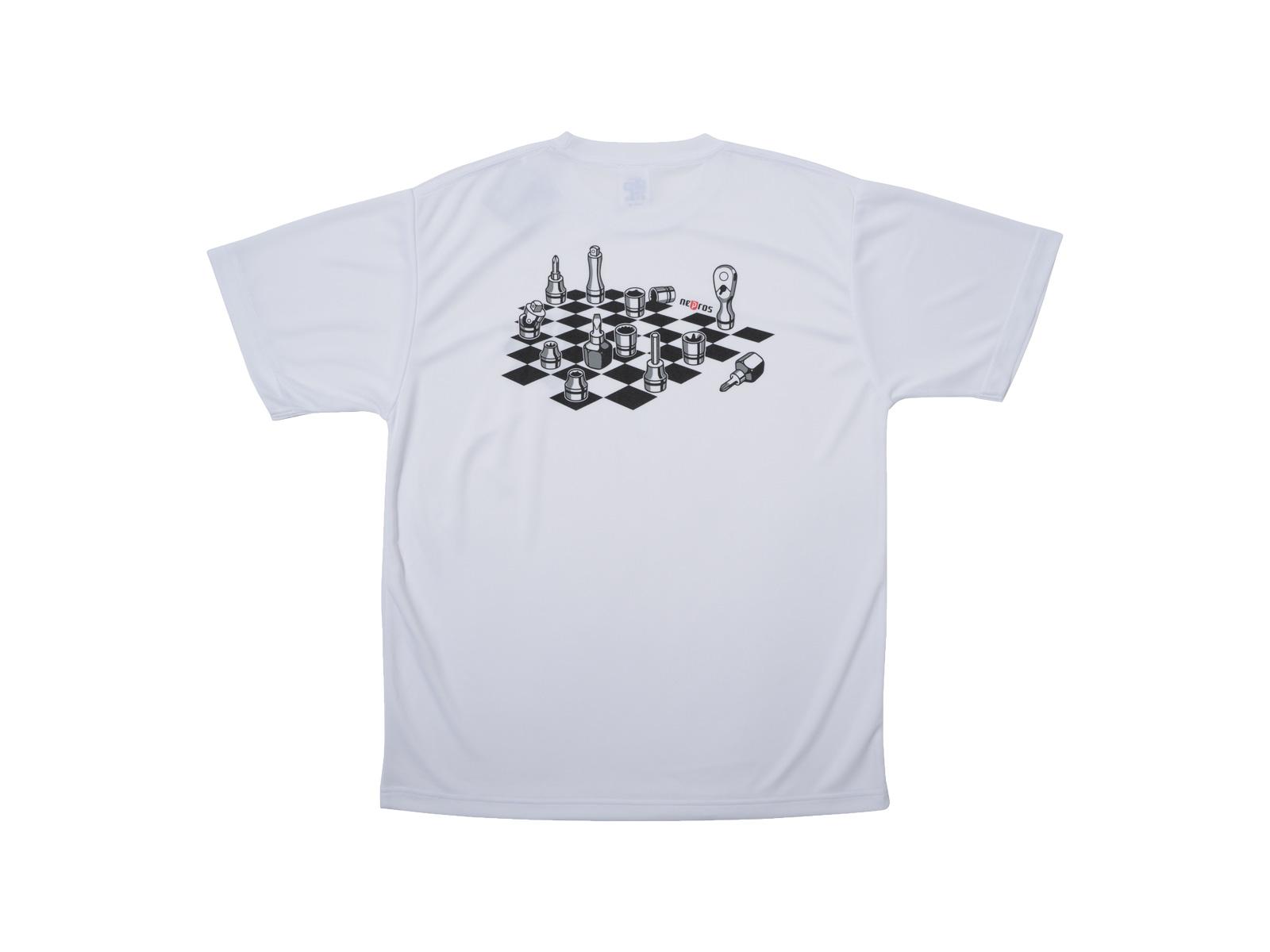 nepros工具チェスドライTシャツ 裏