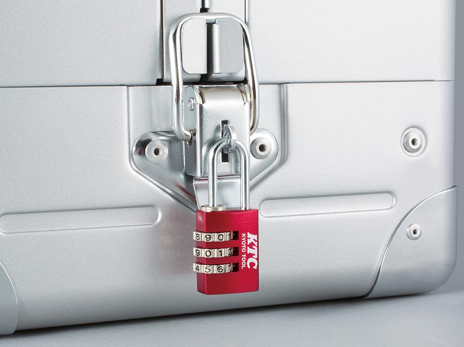 施錠で工具の盗難防止