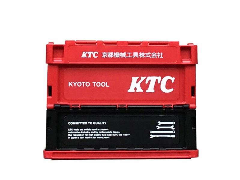 KTC折り畳みコンテナ 20L(レッド)
