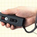 ブレーキパッドを外さず点検口から簡易測定! ブレーキパッドゲージ