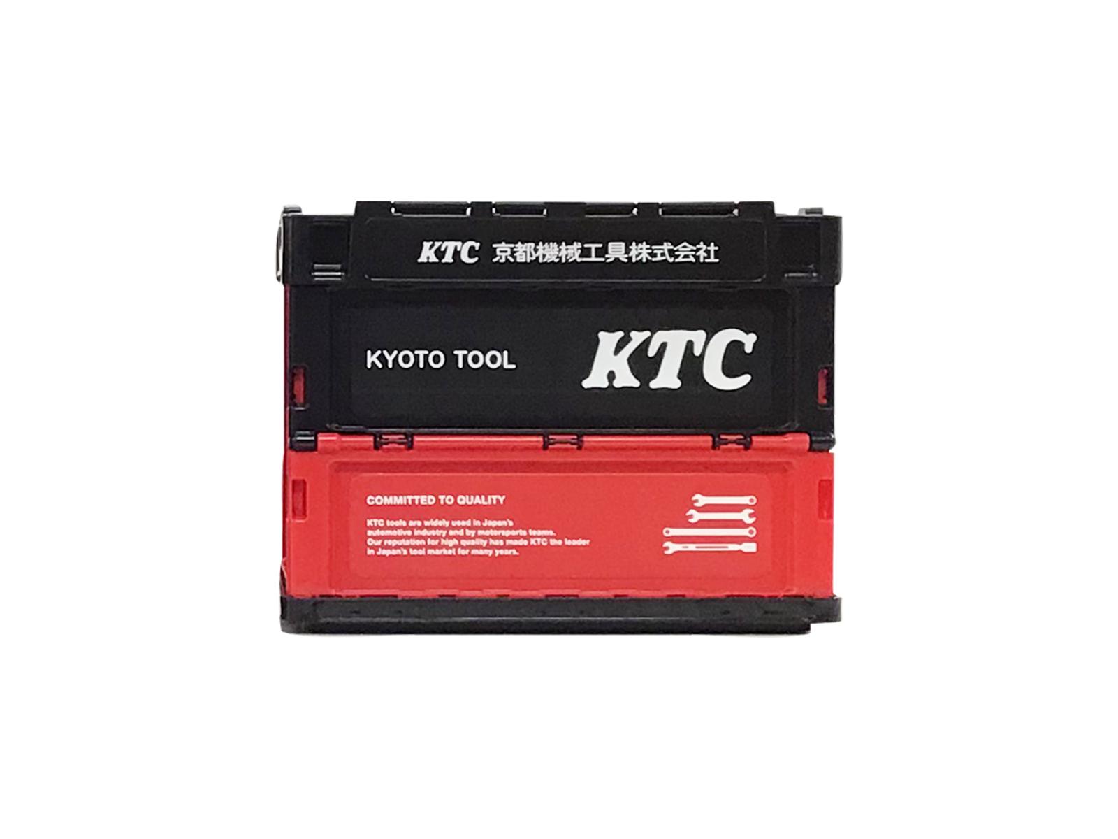 KTC折りたたみコンテナ 20L(ブラック)