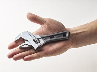 手のひらサイズで取回しが容易
